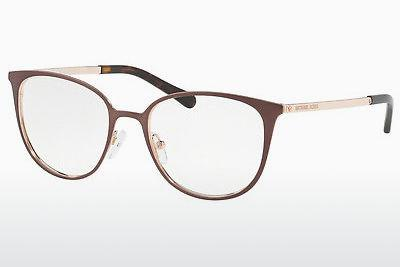 Lunettes design Michael Kors LIL (MK3017 1188) - Brunes, Rose, Or
