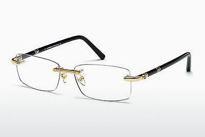 Lunettes design Mont Blanc MB0476 028 - Or