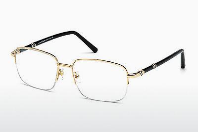 Lunettes design Mont Blanc MB0528 028 - Or