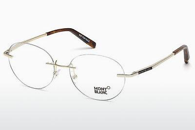 Lunettes design Mont Blanc MB0691 028 - Or