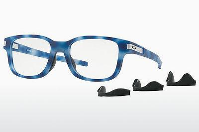 Occhiali design Oakley LATCH SS (OX8114 811404) - Blu, Marrone, Avana