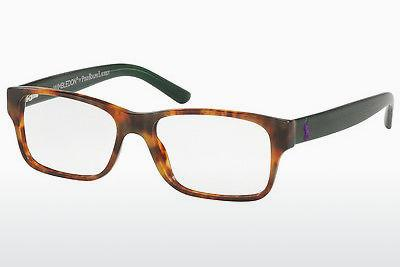 Lunettes design Polo PH2117 5650 - Brunes, Havanna