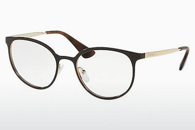 Lunettes design Prada Cinema (PR 53TV DHO1O1) - Brunes, Or