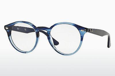 Lunettes design Ray-Ban RX2180V 5572 - Bleues