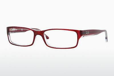 Designerbrillen Ray-Ban RX5114 5112 - Rot, Transparent