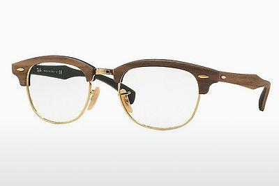 Lunettes design Ray-Ban CLUBMASTER (RX5154M 5561) - Brunes
