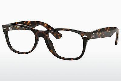 Lunettes design Ray-Ban NEW WAYFARER (RX5184 2012) - Brunes, Havanna