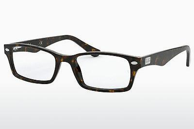 Occhiali design Ray-Ban RX5206 2012 - Marrone, Avana