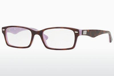 Occhiali design Ray-Ban RX5206 5240 - Purpuriniai, Marrone, Avana