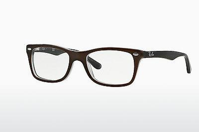 Occhiali design Ray-Ban RX5228 5076 - Marrone