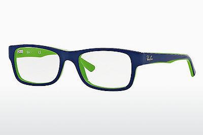 Lunettes design Ray-Ban RX5268 5182 - Bleues