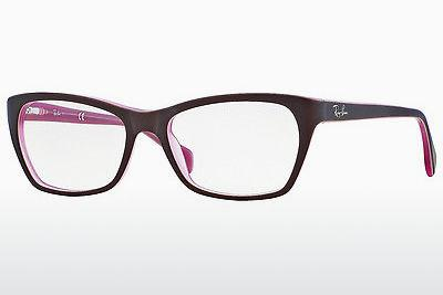 Occhiali design Ray-Ban RX5298 5386 - Marrone