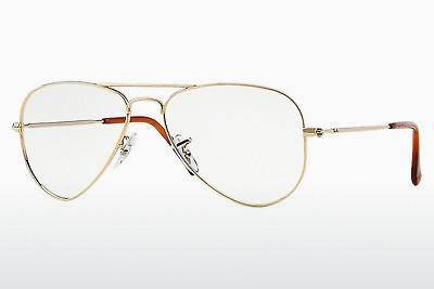 Lunettes design Ray-Ban AVIATOR (RX6049 2500) - Or