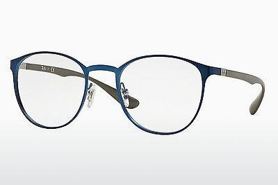 Lunettes design Ray-Ban RX6355 2510 - Bleues