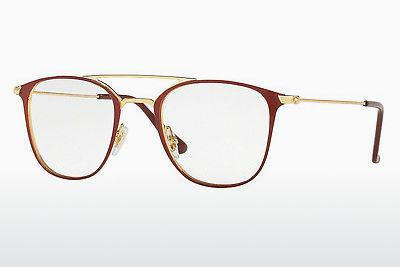 Designerbrillen Ray-Ban RX6377 2910 - Gold, Rot