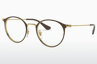 Occhiali design Ray-Ban RX6378 2905 - Oro, Marrone