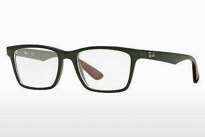 Occhiali design Ray-Ban RX7025 5420 - Verde, Military