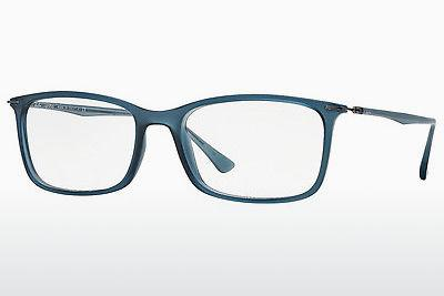 Lunettes design Ray-Ban RX7031 5400 - Bleues