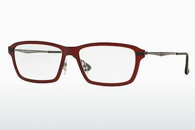 Lunettes design Ray-Ban RX7038 5456 - Rouges