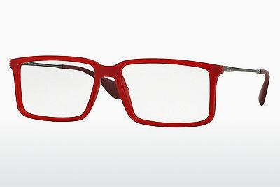 Designerbrillen Ray-Ban RX7043 5468 - Rot