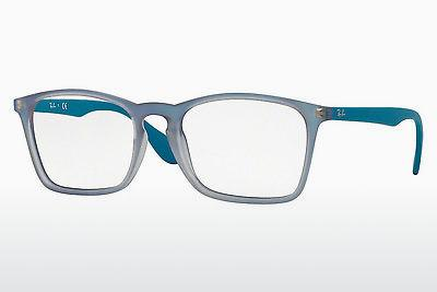 Lunettes design Ray-Ban RX7045 5484 - Bleues, Azure