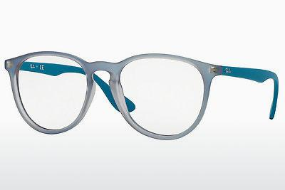 Lunettes design Ray-Ban RX7046 5484 - Bleues, Azure