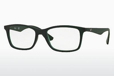 Lunettes design Ray-Ban RX7047 5483 - Vertes