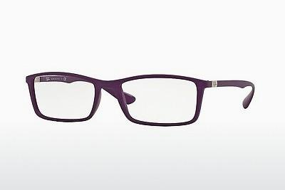 Lunettes design Ray-Ban RX7048 5443 - Pourpre