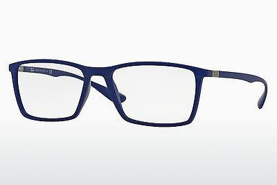 Lunettes design Ray-Ban RX7049 5439 - Bleues