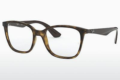 Occhiali design Ray-Ban RX7066 5577 - Marrone, Avana