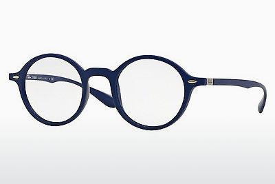 Lunettes design Ray-Ban RX7069 5439 - Bleues