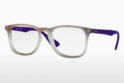 Lunettes design Ray-Ban RX7074 5600 - Pourpre