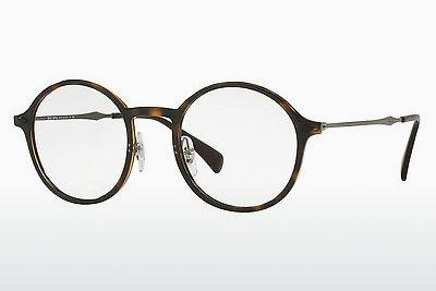 Occhiali design Ray-Ban RX7087 2012 - Marrone, Avana