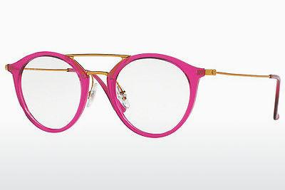 Lunettes design Ray-Ban RX7097 5631 - Rose, Fuchsia