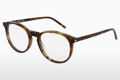 Occhiali design Saint Laurent SL 106 003 - Marrone, Avana