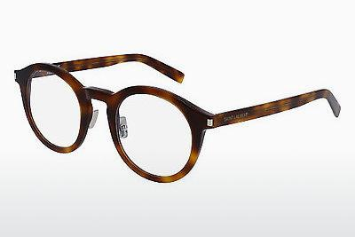 Occhiali design Saint Laurent SL 140/F SLIM 002 - Marrone, Avana