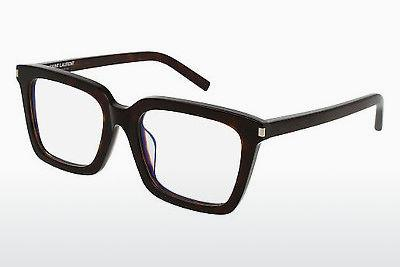 Occhiali design Saint Laurent SL 167/F 002 - Marrone, Avana