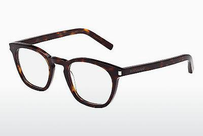 Lunettes design Saint Laurent SL 30 002 - Brunes, Havanna