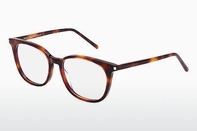 Occhiali design Saint Laurent SL 38 002 - Marrone, Avana