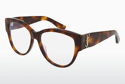 Occhiali design Saint Laurent SL M5 002 - Marrone, Avana
