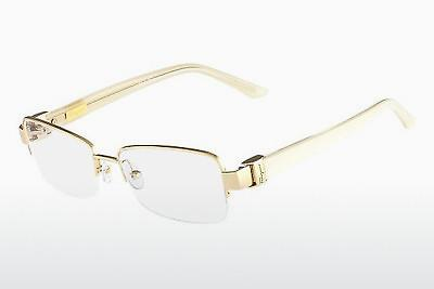 Lunettes design Salvatore Ferragamo SF2112 714 - Or
