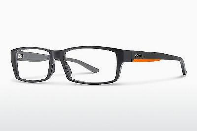 Lunettes design Smith BROADCAST XL LLE - Grises, Orange