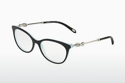 Occhiali design Tiffany TF2142B 8193 - Nero, Marrone, Avana, Blu