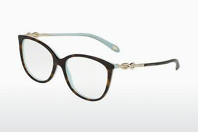 Occhiali design Tiffany TF2143B 8134 - Blu, Marrone, Avana