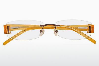 Lunettes design Tim Dilsen TD996 - Brunes, Orange, Transparentes