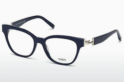 Lunettes design Tod's TO5172 090 - Bleues
