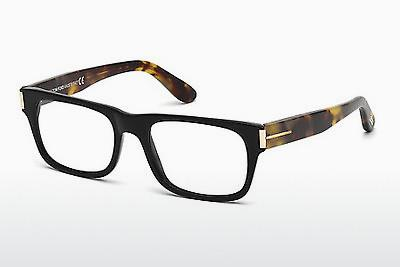 Occhiali design Tom Ford FT4274 001 - Nero, Shiny