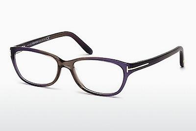 Occhiali design Tom Ford FT5142 059 - Corno, Beige, Brown