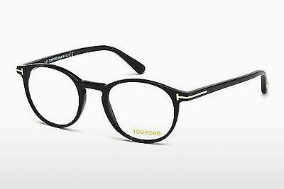 Occhiali design Tom Ford FT5294 001 - Nero, Shiny