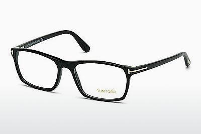 Lunettes design Tom Ford FT5295 052 - Brunes, Dark, Havana